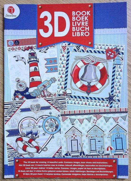 Spiksplinternieuw bol.com   Decotime 3D boek met knipvellen om 14 mooie kaarten mee VW-95
