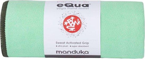 Manduka Equa Yogahanddoek - Green Ash - 183 cm