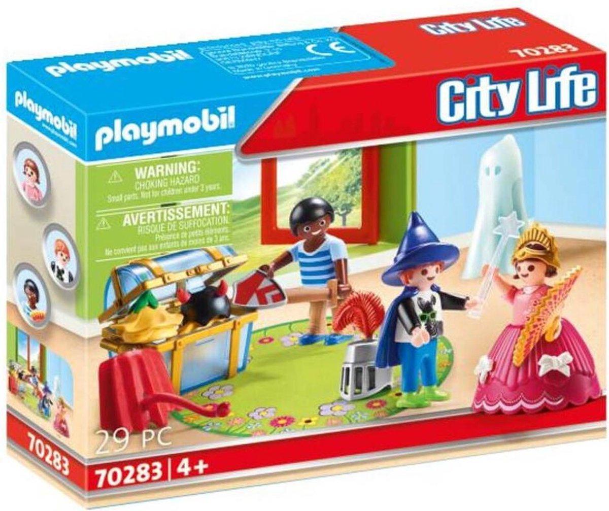 PLAYMOBIL City Life Kinderen met verkleedkoffer - 70283