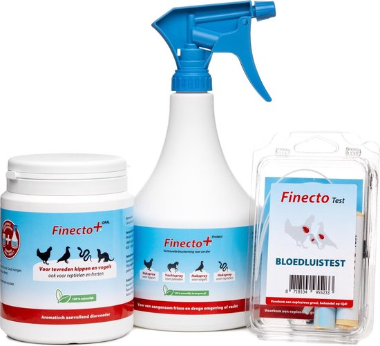 Finecto+ Protect Bloedluis Spray - 900 ml