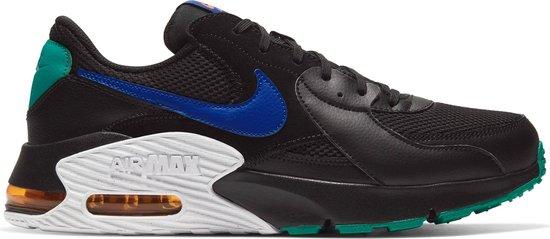 Nike Air Max Excee Heren Sneakers - Black/Hyper Blue-Neptune Green - Maat 42