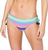 Seafolly Baja Stripe Brazilian Loop Tie Bikinibroek - Sexy Dames Broekje SALE Purple Haze - Maat 36