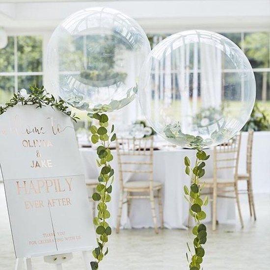 Botanical Wedding - ORB Ballon met groen