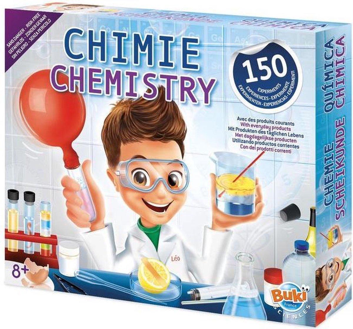 BUKI Scheikunde - 150 experimenten
