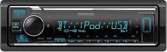 Kenwood KMM-BT306 - Autoradio met bluetooth