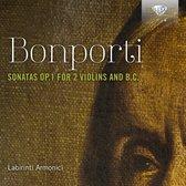 Bonporti: Sonatas Op. 1 For 2 Violins And B.C.