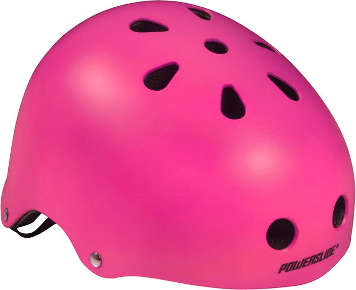 Powerslide Sporthelm - Unisex - roze Maat 59-62