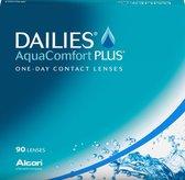 -5,00 - Dailies Aqua Comfort Plus - 90 pack - Daglenzen - Contactlenzen