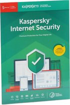 Kasperksy Internet Security | 5 Apparaten | 1 Jaar