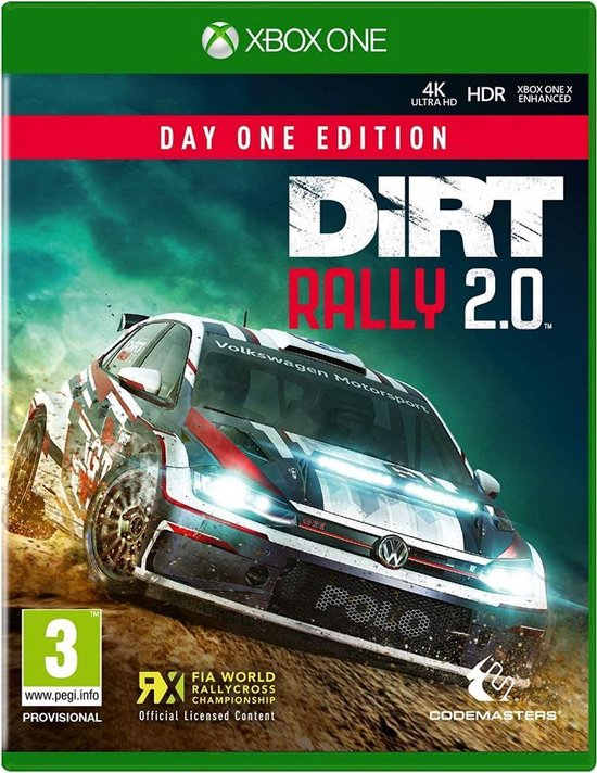 Dirt Rally 2.0 - Day 1 Edition (Xbox One)