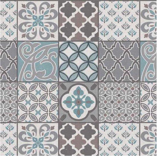 Bonita Tafelzeil - 160 cm Rond - Blue Grey