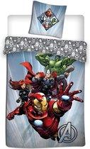 Marvel Avengers Dekbedovertrek - 140 x 200 cm - Polyester