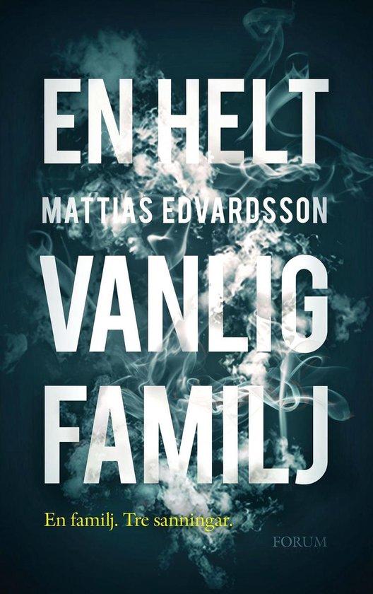 Boek cover En helt vanlig familj van Mattias Edvardsson (Onbekend)