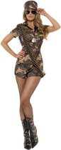 Sexy legerpakje Army Girl kostuum - maat S (36-38)