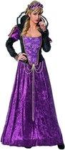 Middeleeuwen & Renaissance Kostuum | Onbereikbare Koele Jonkvrouwe Kostuum | Maat 46 | Carnaval kostuum | Verkleedkleding