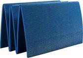 Sirex oefenmat / Fitness mat / fitnessmat opvouwbaar 180 x 50 x 0,7 blauw