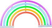 Neon Regenboog Lamp LGBT Sfeerlamp - 3 AA Batterijen