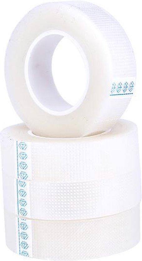 Wimperextension tape - Verzegel zachte dunne PE tape - Wit - 9 meter