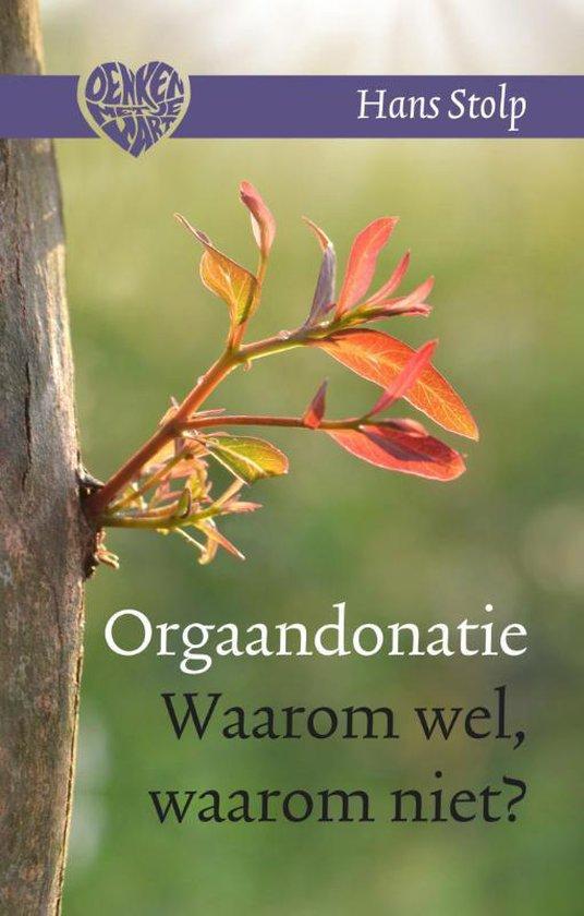Boek cover Denken met je hart 2 - Orgaandonatie van Hans Stolp (Hardcover)