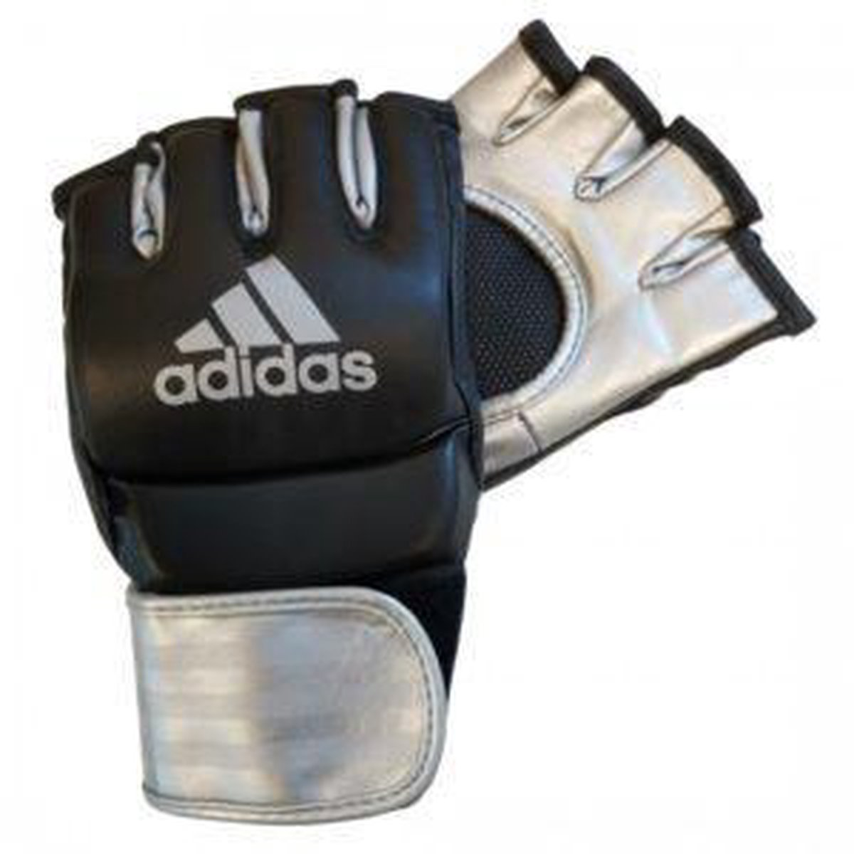 adidas Grappling Training Handschoenen ZwartZilver Medium