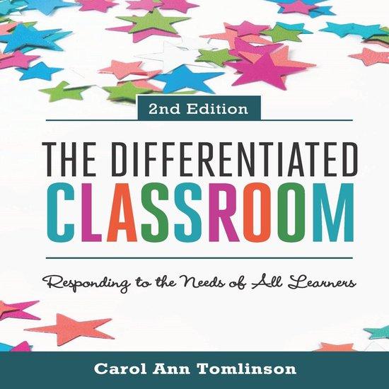 Boek cover Differentiated Classroom, The van Carol Ann Tomlinson (Onbekend)