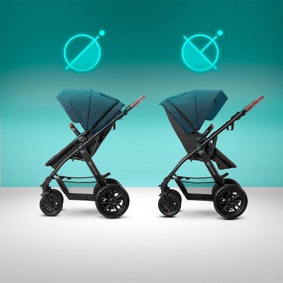 Kinderkraft XMoov 3 in 1 Kinderwagen - Inclusief Autostoel - Denim
