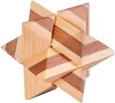 DW4Trading® 3D bamboo puzzel ster