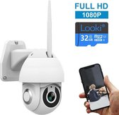 Looki® 360PRO Full HD draadloze IP camera met 32GB