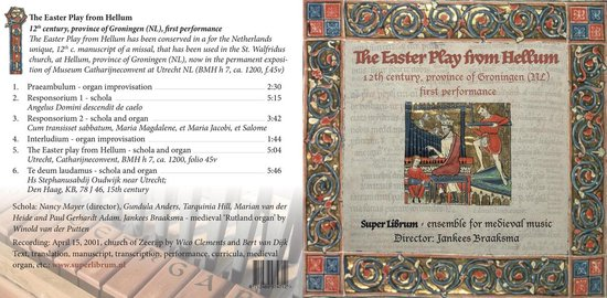 The Easter Play from Hellum - Het Hellums Paasspel