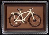 Weible chocolade fiets 8 x 12cm