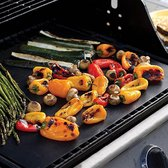 5 X BBQ Grill mat | non-stick grill mat | Barbecue | Set van 5  40 X 33 CM | vaatwasbestendig | herbruikbaar bakpapier