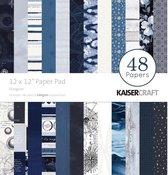 "Kaisercraft: Stargazer Paper Pad 12""X12"" 48/Pkg"