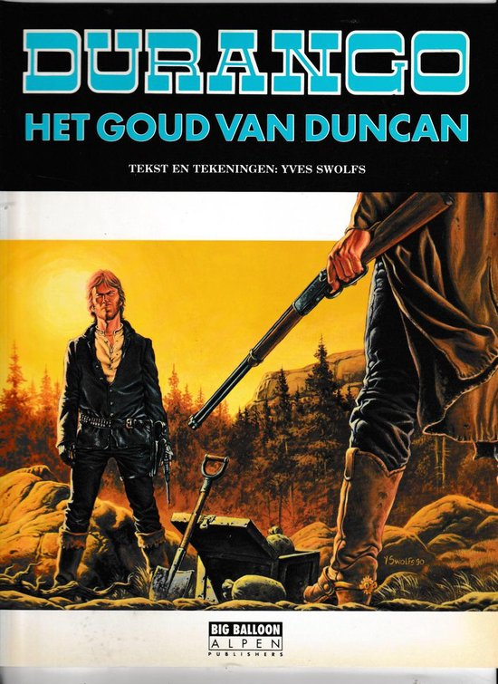 Het goud van duncan - Yves Swolfs  