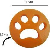 Pluispootjes – haarverwijderaar wasmachine – huisdierhaar verwijderaar - haarverwijderaar voor huisdieren – dierenhaar verwijderaar – verwijderen dierenhaar in wasmachine - set: 2 stuks