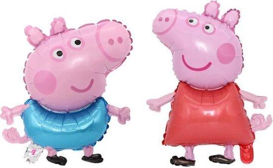 Peppa and George Pig set 2 stuks