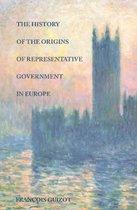 Boek cover History of the Origins of Representative Government in Europe van Francois Guizot