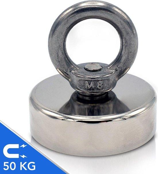 Magfishion® Kindervismagneet - Mini Vismagneet - Magneetvissen - 50 KG Trekkracht