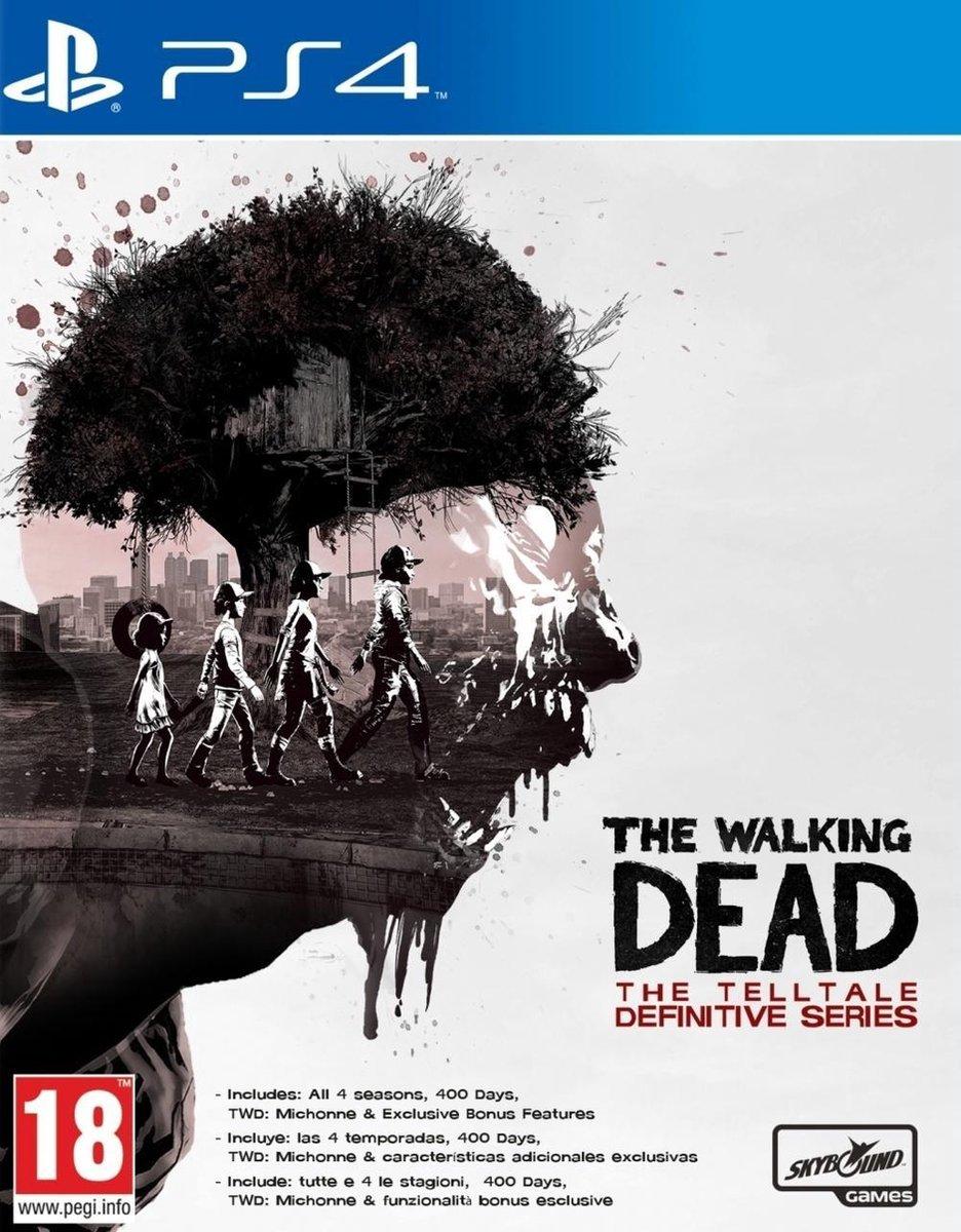 Bol Com Telltales The Walking Dead The Definitive Series Ps4 Games