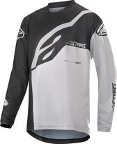 AL Youth Racer Factory Ls Jersey-Black White-XL
