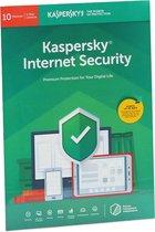 Kasperksy Internet Security | 10 Apparaten | 1 Jaar | Engelse verpakking | 2020