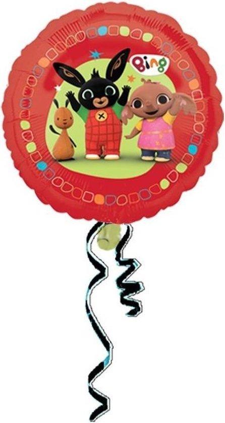Bing het konijn folie ballon - Bing Bunny helium ballon | leeg