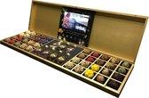 ChocolaDNA chocolade truffels - gouden luxe hervulbare chocolade kist - 200 stuks
