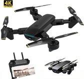 Drone met 4K UHD Camera   WiFi live drone   Quadrocopter   50x zoom   Zwart