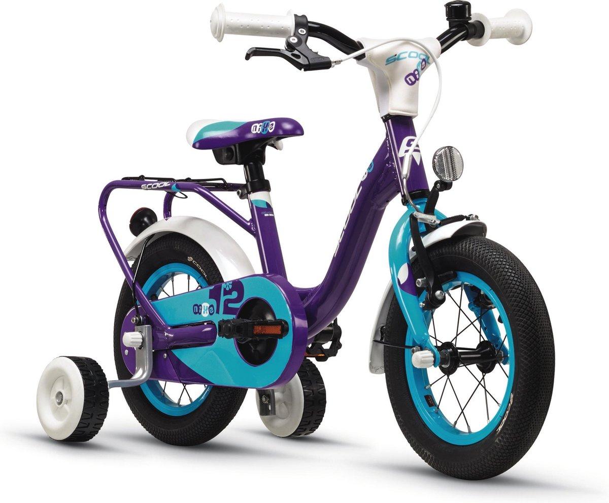 S'cool Kinderfiets 12 inch  niXe alloy 12 violett/blue online kopen