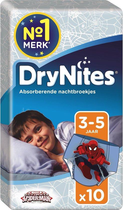 DryNites® 4-7 jongen 10 stuks