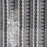 Zwarte sjaal dames - col sjaal - 100% Wol