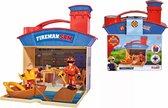 Brandweerman Sam - draagbare koffer reddingscentrum
