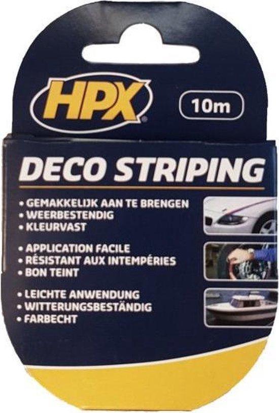 HPX Deco Sierbies Dubbel 6mm x 10mtr Zwart