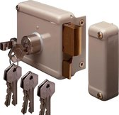 Yale oplegslot 634-60 met 6 sleutels – Doornmaat 60mm – DIN LINKS