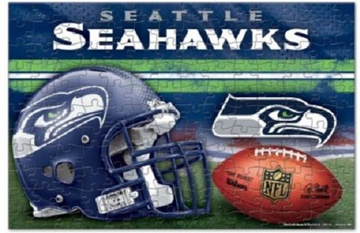 Wincraft 150 stuks Seattle Seahawks Puzzel